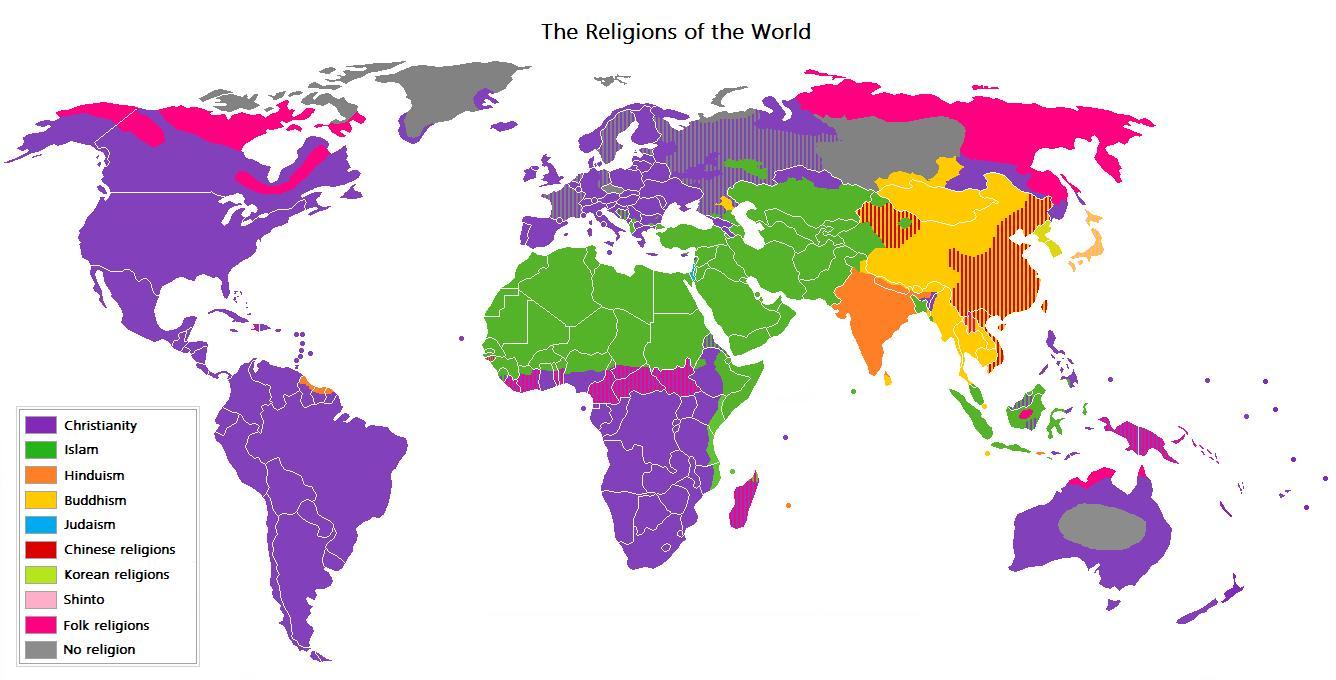 ReligionsMap